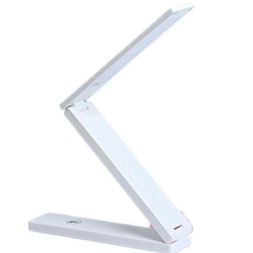 1-licht-acryl-diffusor (HHORD LED PC Touch Aufladung (3W) Zickzack Student Auge Büro Büro Recruitment Schreibtisch Kalender (182 * 42 * 30mm) , 1)