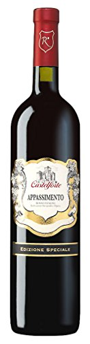 Castelforte - Appassimento Rosso Veneto IGT Rotweincuvée halbtrocken Italien Venetien Süditalien 14% Vol. - 0,75l