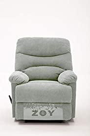 Zoy Fabric Recliner - Manla/Mocha Cream