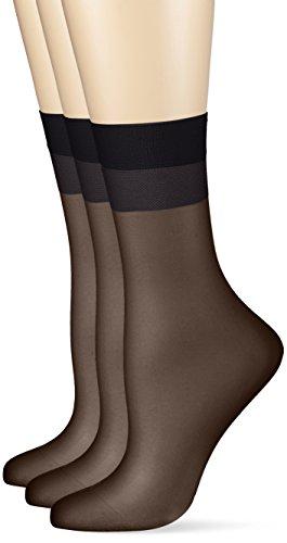 Hudson Damen 030044 Socken, 15 DEN, Schwarz (Black 0005), 39/42 (3erPack)