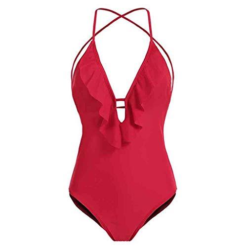 PorLous Badeanzug, 2019 Damen Einteilige Badeanzüge Für Frauen Abnehmen Bademode Badeanzüge Sport Sexy