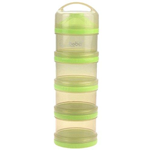 Preisvergleich Produktbild Gazechimp Tragbare Baby Fütterung Milch Pulver Lebensmittel Box Speicher Flasche Container - Grün