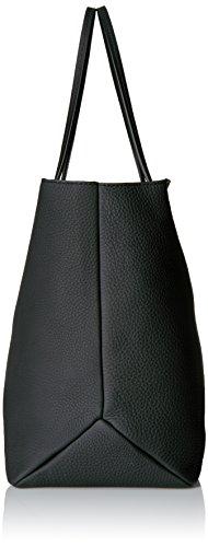 Ecco - Jilin Shopper, Borse a spalla Donna Nero (Black)