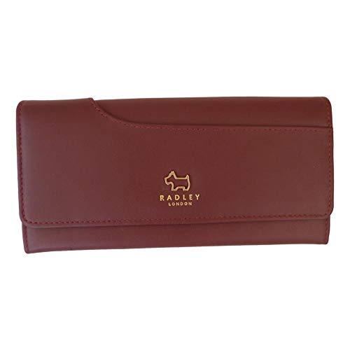 Radley 13754, Damen Damen-Geldbörse Rot burgunderrot Large - Matinee-geldbörse