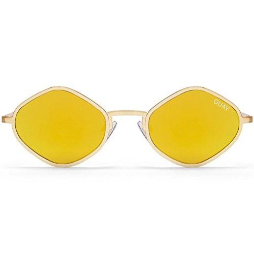 Quay Australien X Kylie Jenner Lila Honig Sonnenbrillen In + Pom Pom Einheitsgröße Gold Gold