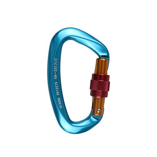 Ndier Rampino multifunzionale Gravity attrezzatura da arrampicata corda da arrampicata sopravvivenza moschettone in acciaio INOX imbrago