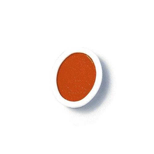 amphoe Prang-Pfannen für Oval Watercolor Set Nachfüllbare Töpfe (Paket mit 12) Oval Pan Orange -
