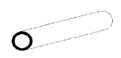 EVERGREEN 501608 Leisten 350x3,2x4,2mm