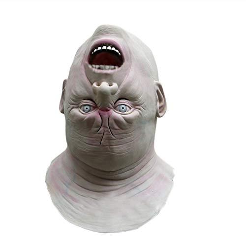 Kostüm Alien Scary - HZRKJ Halloween Erwachsene Maske Zombie Maske Latex Blutig Scary Alien Devil Vollmaske Kostüm Party Cosplay Requisiten DA