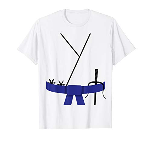 Cooles Design Blauer Gürtel Karate Custome Halloween T-Shirt