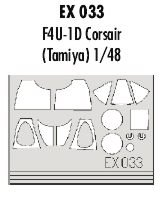 Eduard Accessories ex03330502000F4u-1d corair
