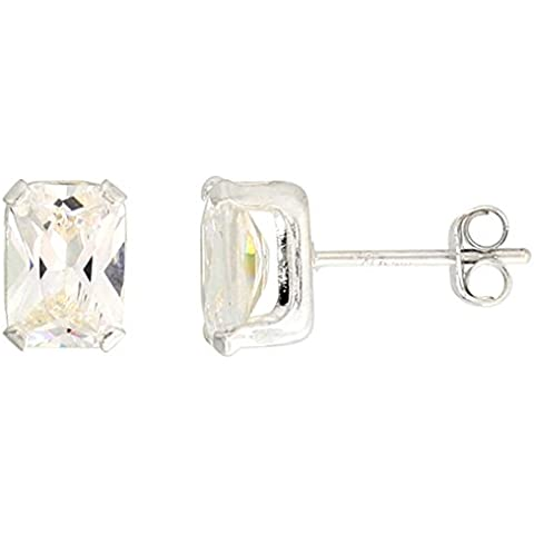In argento Sterling, 7 X 5 mm (1