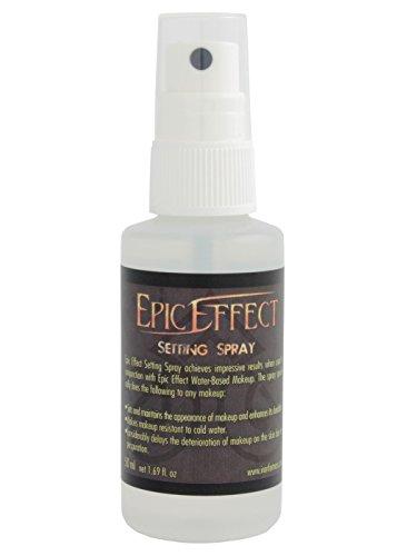 Epic Effect Make-up Spray Unité de fixation (fusers) 50 ml pour arrangement de sprays