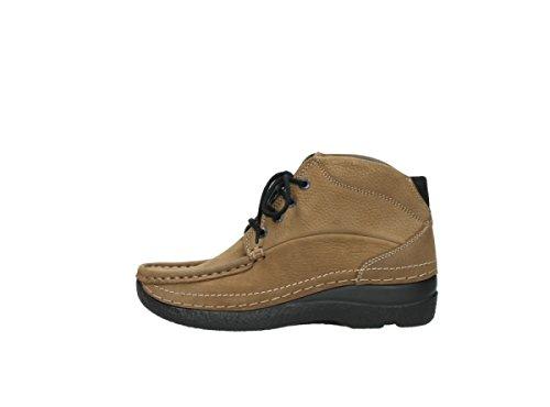 Wolky Boots 6242 Roll Shoot 931 mittelbraun Nubuk
