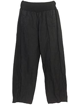 Pantaloni lino Donna, Made in Italy