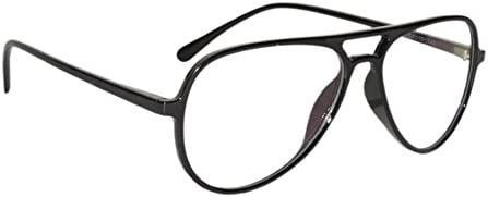 Peter Jones Retro Black Aviator Unisex Optical Frame (2788B)