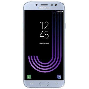 Samsung Galaxy J7 (2017) Dual SIM 16GB SM-J730F/DS Blau-Silber Smartphone