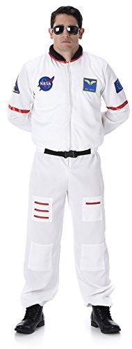 Karnival 82089Male Kostüm Astronaut, Herren, Weiß, extra groß (Weiß Astronaut Kostüm Für Erwachsene)