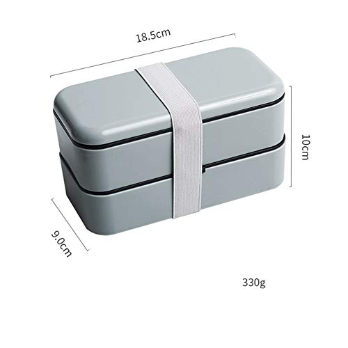 Picnic Box, Leakproof and Sealed 2 Layer Large Capacity Lunch Box for Ladies, Men and Children -