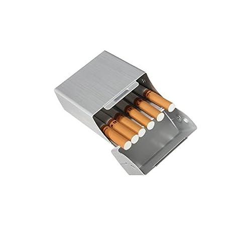 Tfxwerws Mode Métal Aluminium Poche cigare Cigarette Tabac Coque Cigarette