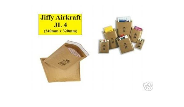 "100 JL5 Jiffy Bags Airkraft Bubble Envelopes 10.5/"" x 14/"" GOLD"