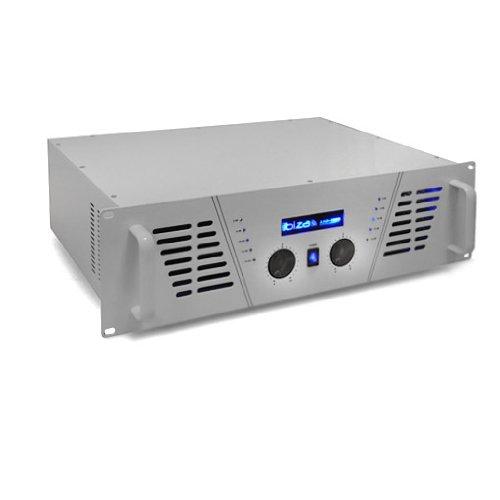 Ibiza AMP-1000 DJ PA Verstärker 1600W MOSFET weiss (1600 Verstärker)