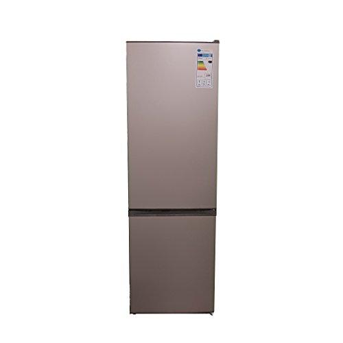 Kühl-Gefrier-Kombination/A+++/ 188 cm Höhe/ 150 kWh/Jahr/ 215 Liter Kühlteil/ 90 Liter Gefrierteil/ 40 dB/Silber/Leise
