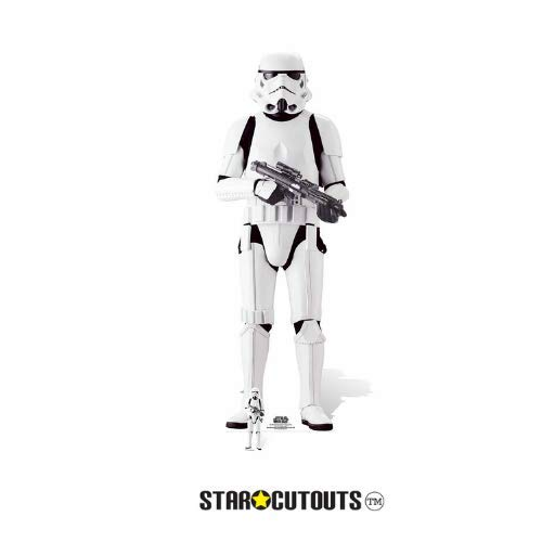 Star Wars Rogue One Imperial Stormtrooper Karton Ausschnitt, Mehrfarbig