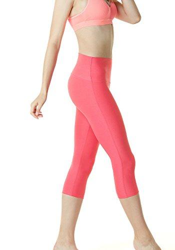Tesla Capri, yoga 53,3cm high-waist controllo pancia pantaloni W tasca FYP32 Z-TM-FYP32-NPK