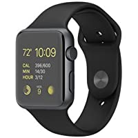 Vell-Tech Bluetooth Smartwatch Compatible with All Mobile Phones for Boys and Girls (Black A1)
