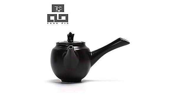 Style B : TANGPIN 2016 Black and White Ceramic teapot Kettle