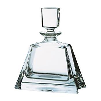 Bohemia Small 24 Percent Lead Crystal Boston Decanter, Transparent