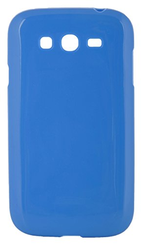 iCandy™ Shiny Back Cover for Samsung Galaxy Grand I9082 & Grand Neo 9060 (Blue)  available at amazon for Rs.160