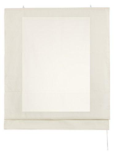 Estores Basic- Plegable con Varillas, Crudo, 120x175 cm