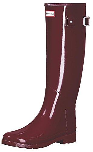 Stivales Hunter Original Refined Gloss Scarl Rosso