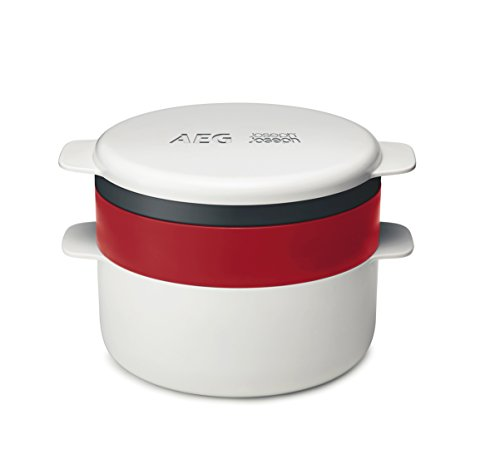 AEG 9029797298 Mikrowellen-Kochset 4 Teilig/Flexibles stapelbares Design/Kochfunktion - Design-stapelbar