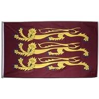 Bandera histórica antigua Ricardo Corazón de León de tela 152 x 91cm