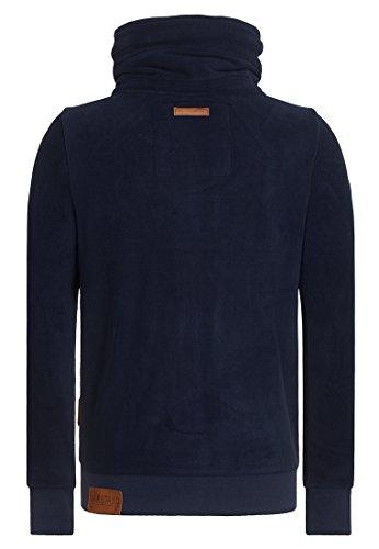 Naketano Male Zipped Jacket Der Gedudelte V Dark Blue
