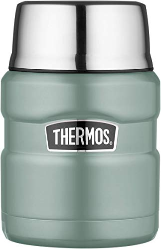 Picture of Thermos Food Flask, Stainless Steel, Duck Egg, 470ml