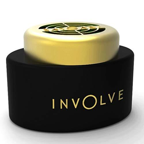 Involve Your Senses Music Retro Fragrance Gel Car Perfume with DrivFRESH®   Water Based Car Air Freshener - IMUS01