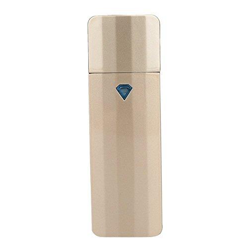 Gesichtsprüher Nano-Ionischer Mini-Schiebe-Gesichts-Mister Portable Facial Spray Hydration Cooler Nebel Befeuchtet Wimpernverlängerung Nebel Mit USB-Kabel Wiederaufladbarer, Handlicher Spray-Dampfer -
