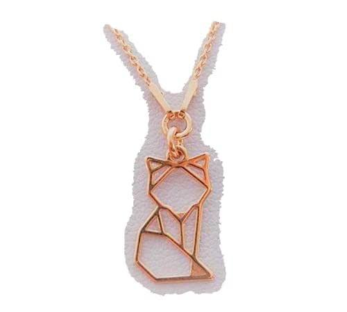 "collier""renard origami"" vermeil"