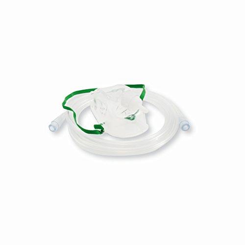 Sauerstoffmaske für Erwachsene ohne Reservoir mit Verlängerungsschlauch