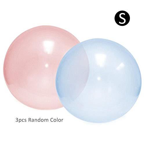 sparent Jumbo Bubble Ball, Water Wasserballon, Beach Bubble Ball gefüllt mit Wasserballon Übergroße Aufblasbare Wasserball für Sommer Strand Pool Party Supplies ()