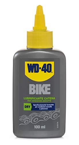 WD-40 Bike - Lubrificante Catena Bici e MTB per Condizioni Asciutte e Polverose Formula con PTFE - 100 m
