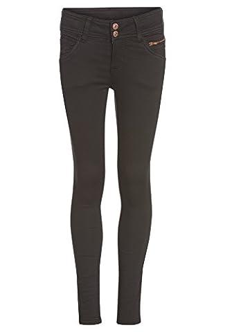 GATO NEGRO Softe Mädchen Stretchhose - Skinny Kinder,Stretch-Hose,Jeans,lang,eng,schmal,Röhre
