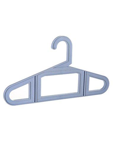 Plastique Seamless Hanger Séchage adultes Racks (Built-in 5) ( Couleur : 1 )