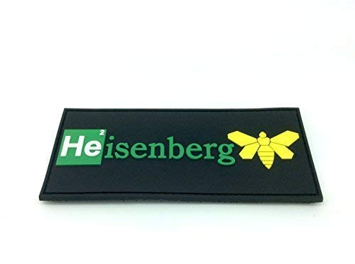 Heisenberg Breaking Bad Cosplay Ventilador PVC Airsoft Velcro Patch