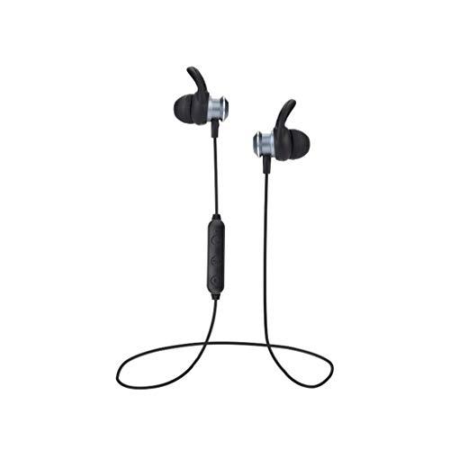 Elospy Sport Bluetooth Kopfhörer, in Ear Kabelloser Stereo Headset 4 Stunden Akkulaufzeit, Schweiß Beweis Autonavigation Headphones mit Mikrofon kompatibel mit Samsung Huawei usw