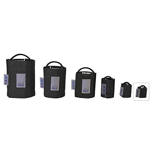 MDF® Neonati - Tubo singolo bracciale per la rilevazione della pressione senza latex - Nero (MDF2010401-11)